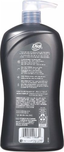 Dial for Men Hair & Body Ultimate Pump Body Wash Perspective: back