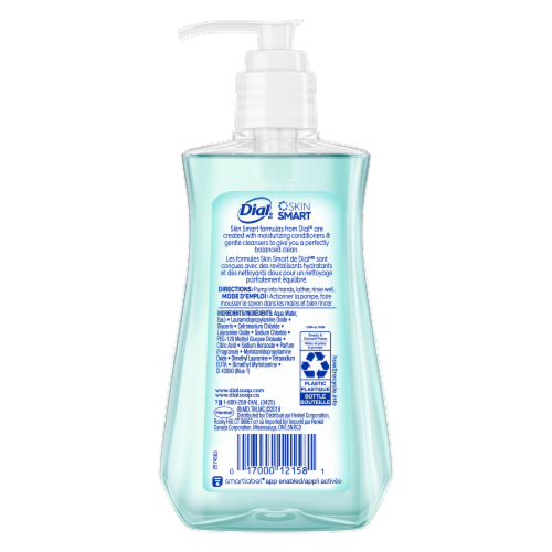 Dial Coconut Water & Mango Hydrating Liquid Hand Soap Perspective: back