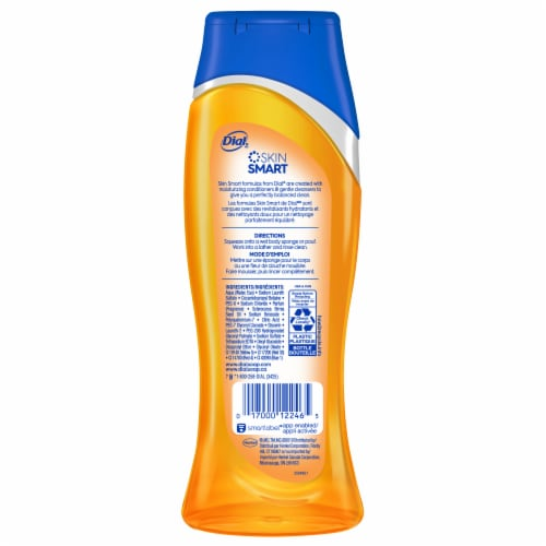Dial Marula Oil Nourishing Body Wash Perspective: back