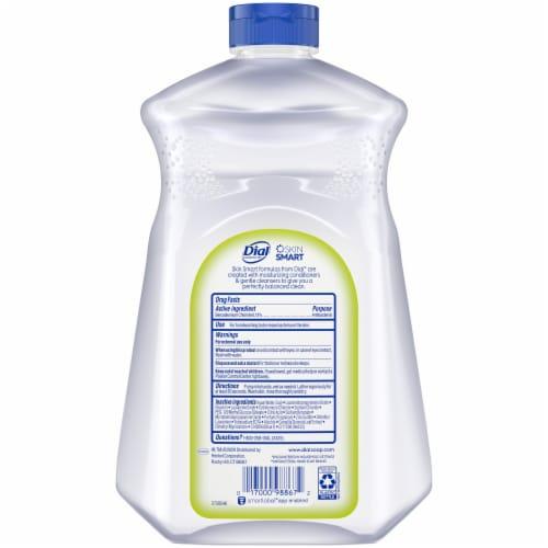 Dial White Tea and Vitamin E Liquid Soap Refill Perspective: back