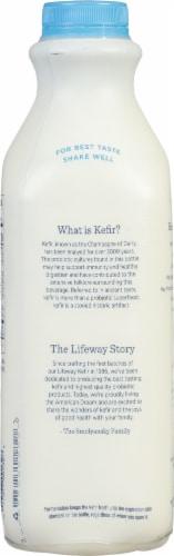 Lifeway Organic Low Fat Plain Kefir Perspective: back