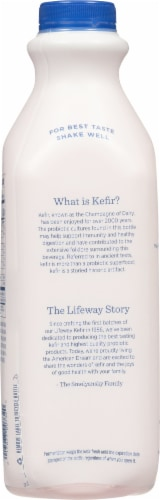 Lifeway Organic Kefir Low Fat Blueberry Milk Perspective: back