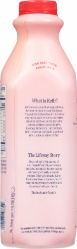 Lifeway Low Fat Strawberry Kefir Perspective: back