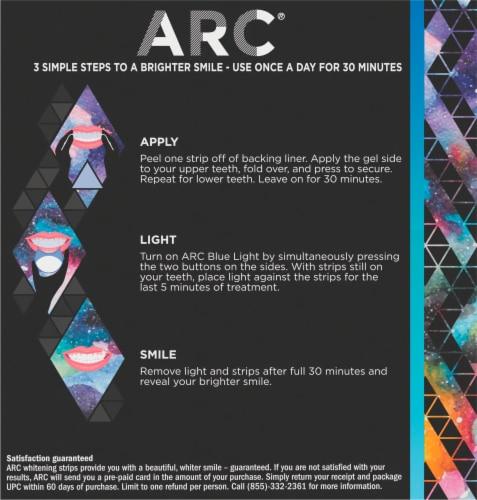 ARC Blue Light Teeth Whitening Kit Perspective: back
