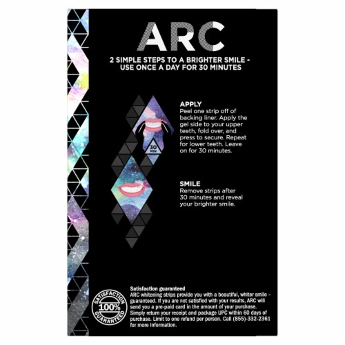 ARC Smile Amplifier Teeth Whitening Kit Perspective: back