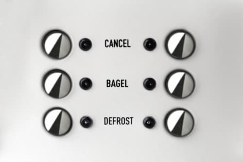 Haden Heritage 4-Slice Wide Slot Toaster - Ivory White Perspective: back