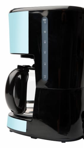 Haden Heritage Programmable Coffee Maker - Turquoise Perspective: back