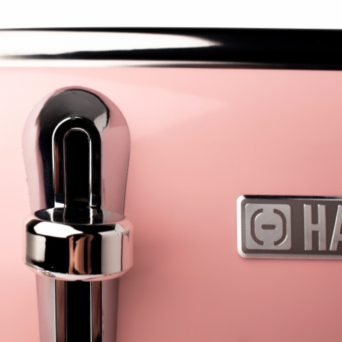 Haden Heritage 4-Slice Toaster - English Rose Perspective: back