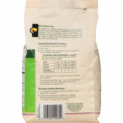 Mahatma™ Organic White Rice Perspective: back