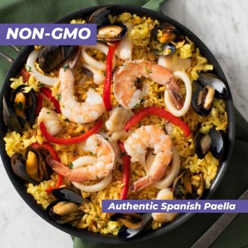 Mahatma Parboiled Medium Grain Rice Perspective: back