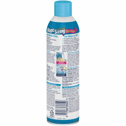 Magic Sizing Light Body Ironing Spray Perspective: back