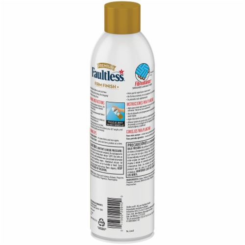 Faultless Premium Professional Starch Spray Luxe Finish Ironing Spray Starch Perspective: back