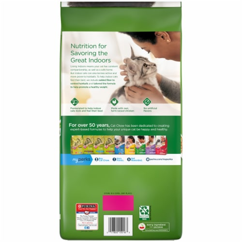 Cat Chow Indoor & Immune Health Blend Dry Cat Food Perspective: back