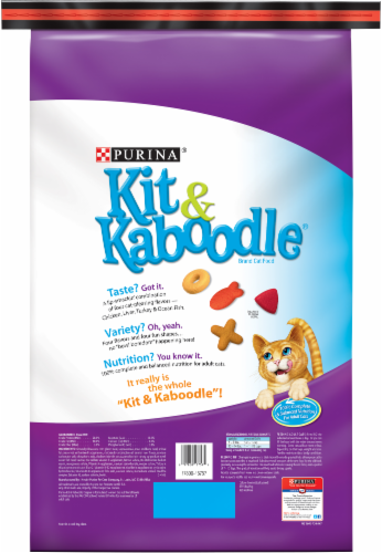 Kit & Kaboodle Original Dry Cat Food Perspective: back