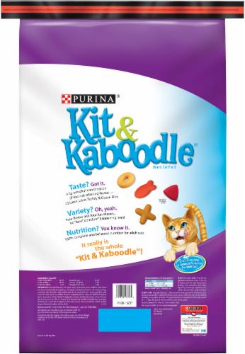 Kit & Kaboodle Original Dry Cat Food Perspective: back
