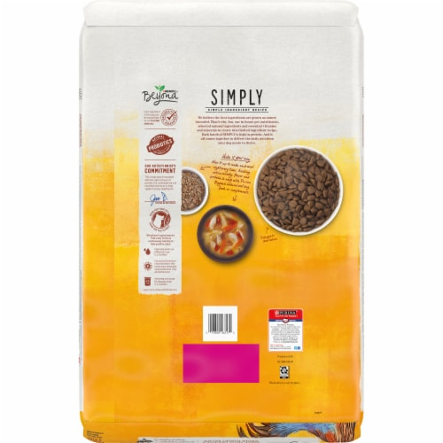 Beyond® Simply White Meat Chicken & Whole Barley Recipe Adult Dry Dog Food Perspective: back