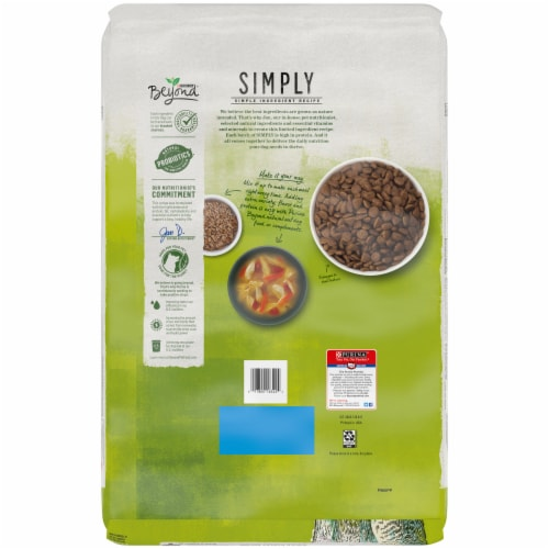 Beyond Simply 9 Ranch-Raised Lamb & Whole Barley Recipe Adult Dry Dog Food Perspective: back