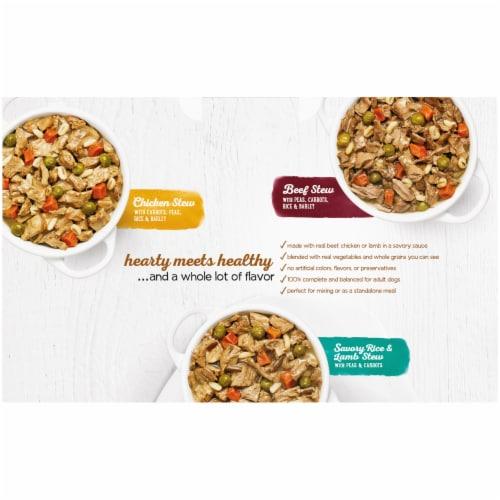 Beneful Prepared Meals Wet Dog Food Variety Pack Perspective: back