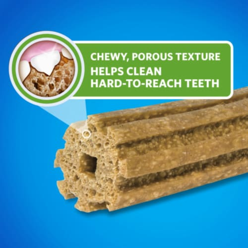DentaLife Large Daily Oral Care Dog Treats Perspective: back