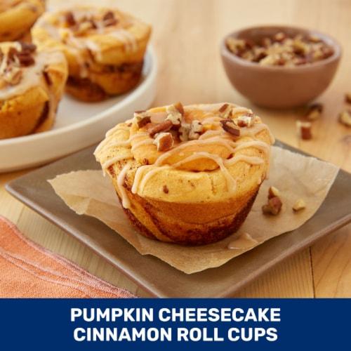 Pillsbury Grands! Pumpkin Spice Rolls Perspective: back