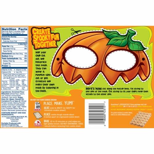 Pillsbury Ready to Bake! Pumpkin Sugar Cookie Dough Perspective: back