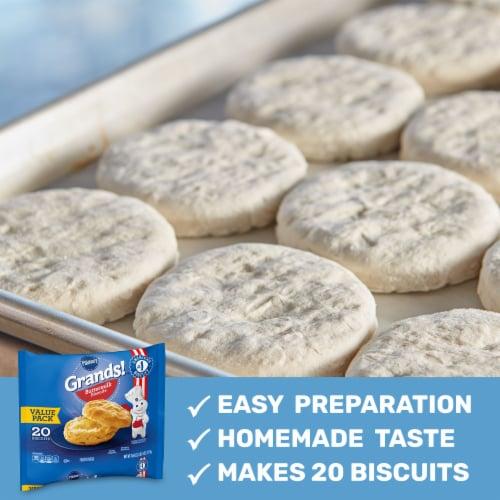 Pillsbury Grands! Buttermilk Biscuits Perspective: back