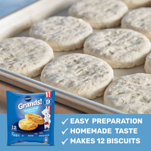 Pillsbury Grands! Southern Style Biscuits Perspective: back