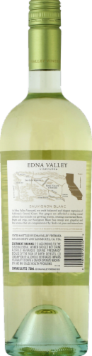 Edna Valley Vineyard Sauvignon Blanc White Wine Perspective: back