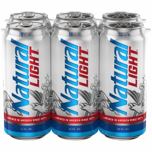 Natural Light Beer Perspective: back