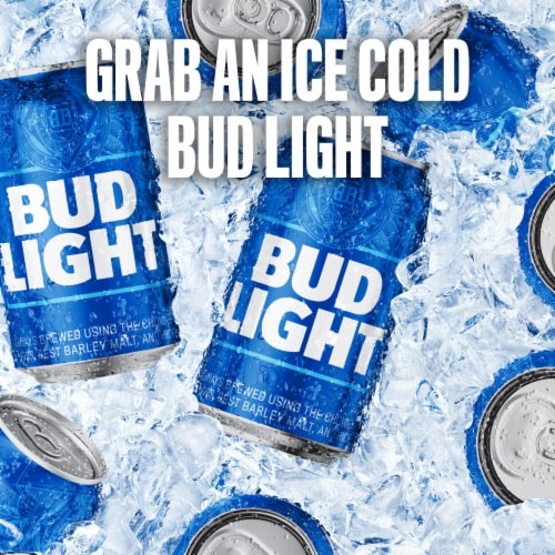 Bud Light Beer Perspective: back