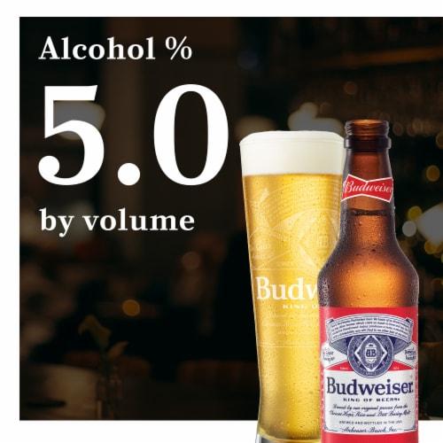 Budweiser® Lager Beer Perspective: back