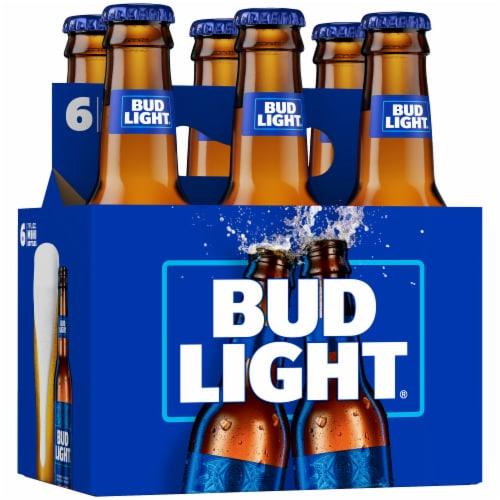 Bud Light Minis Lager Beer Perspective: back