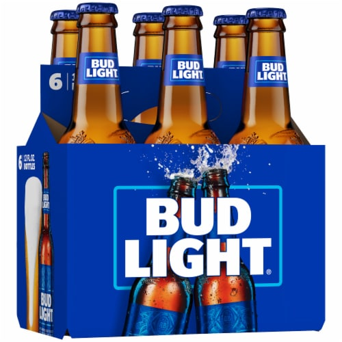 Bud Light Lager Beer Perspective: back