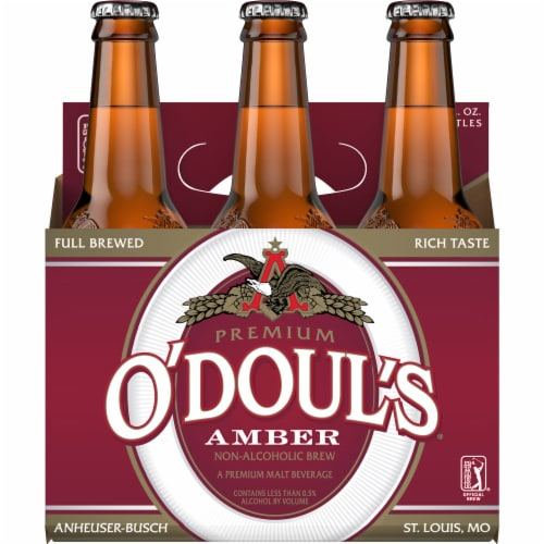 O'Doul's® Amber Non-Alcoholic Beer Perspective: back