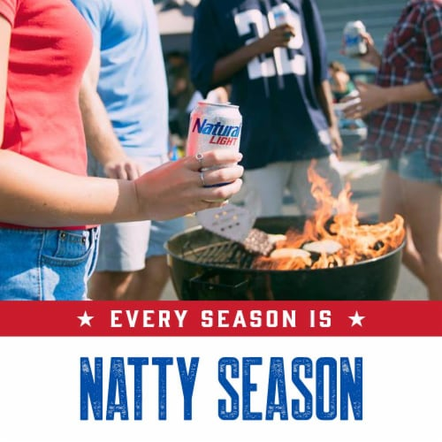 Natural Light Natty Pack Beer Perspective: back