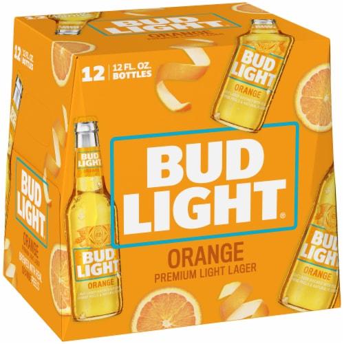 Bud Light Orange Beer Perspective: back