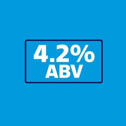 Bud Light® Citrus Premium Light Lager Beer Variety Pack Perspective: back
