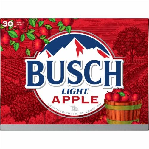 Busch Light Apple Beer Perspective: back