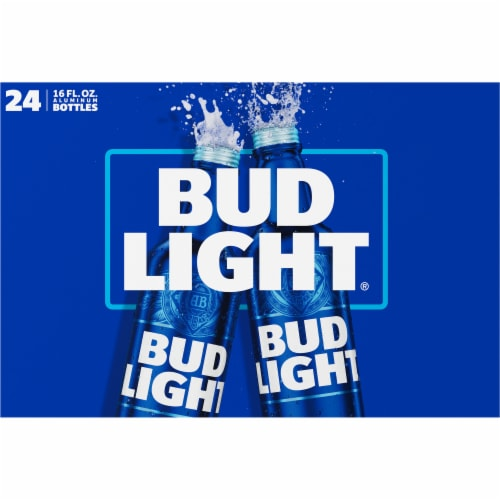 Bud Light Reclosable Aluminum Bottles Perspective: back