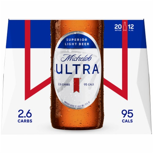 Michelob Ultra Light Beer Perspective: back