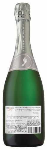 Barefoot Bubbly Brut Cuvee Champagne Sparkling Wine Perspective: back