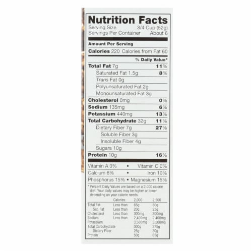 Kashi Cereal - Chocolate Crunch - Case of 8 - 12.2 oz. Perspective: back