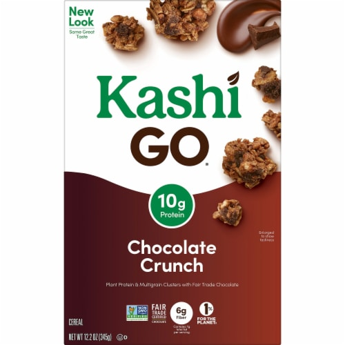 Kashi GO Vegan Breakfast Cereal Chocolate Crunch Perspective: back