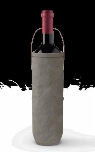 IG Design Kraft Wine Bag - Gray Washed Perspective: back