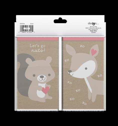 IG Design Animal Notepads Perspective: back