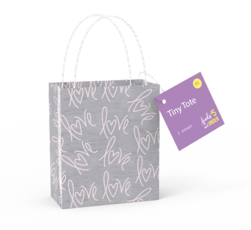 IG Design Tiny Tote Bag - Assorted Perspective: back