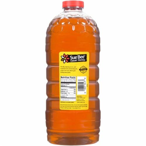 Sue Bee Premium Clover Honey Perspective: back