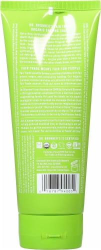 Dr. Bonner's Organic Lemongrass Lime Shave Gel Perspective: back