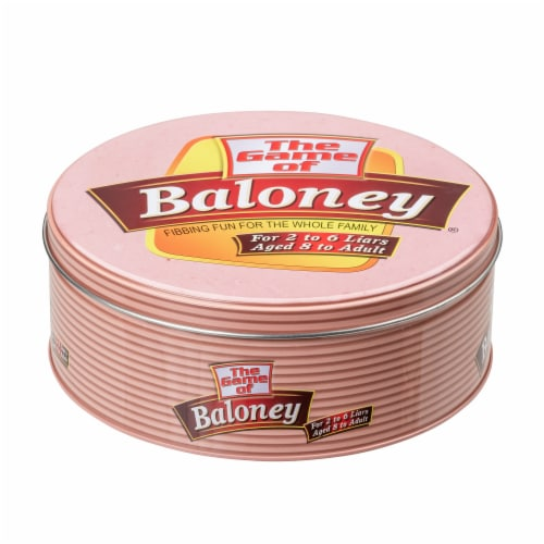 TDC Games The Game of Baloney Board Game Perspective: back