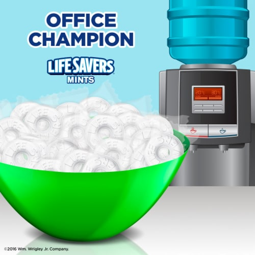 Life Savers® Wint O Green Mints Hard Candy Perspective: back